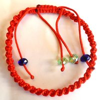 beads to buy - Two for one hundred years of life to buy more to send transfer Red String Bracelet transport Bead Bracelet evil red rope Bracelets