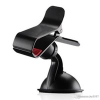 Wholesale Single clip general multifunctional navigation phone rack suction cup degrees car with a mini car phone bracket