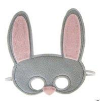 Wholesale animal mask patch Blindfold fox rabbit bear