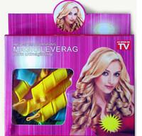 Wholesale Magic Magic Hair Curlers Roll Loaded Short Length Of Plastic Hair Sticks Hair Styling Tool