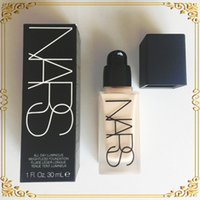 Wholesale 2016 Makeup Face And Body Foundation NARS New Makeup All Day Luminous Weightless Foundation Liquid ml DHL