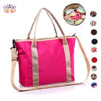 Wholesale 20 Color Large Capacity Travel Baby Diaper Bags Waterproof Nappy Bags Multifunctional Changing Messenger Bag Maternity Handbag
