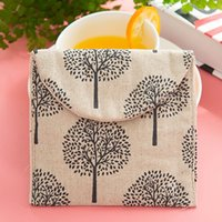 Wholesale Cute Cotton Exchange Admission Hygiene Kits Health Protection napkins Sanitary Towel Bag Sanitary Towel Storage Cosmetic Bags