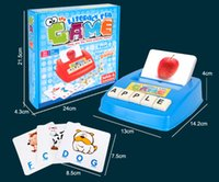 alphabet flashcard games - Children s early education toys Figure Spelling English Game Platter Puzzle Flashcards Spell Words