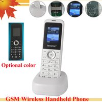 Wholesale GSM wireless handheld phone quad band MHZ wireless phone GSM phone for office family mine remote mountain use