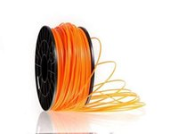 Wholesale Orange ABS PLA mm D Printer Filament Polylatic Acid Rod Consumables For Makerbot Ultimaker UP Printer
