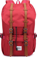 Wholesale Kaukko New Feature of Side Pockets Outdoor Travel Hiking Backpack Laptop Schoolbag for Men and Women