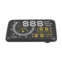 Wholesale 2015 New Arrivals Car HUD Showing OBD Insert Head Up Display KM h amp MPH Speeding Warning OBD2 System W02 HUD Head Up Display
