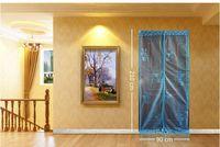 Wholesale NEW cm Magic Mesh Hands Free Screen Net Magnetic Anti Mosquito Bug Door Curtain