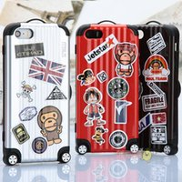 apples maps - The New Cartoon Suitcase iphone6 s Following From iphone s plus Luggage Silicone Sets Case Send Random Map