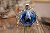 Wholesale 2016 hot new Star Trek movie Time gemstone pendant necklace Europe surrounding accessories time gem necklace