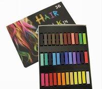 Wholesale New Fasion Colors Hair Chalk Fashion Color Hair Chalk Dye Pastels Temporary Pastel Hair Extension Dye Chalk Hot