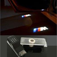 Wholesale Car LED Door Logo Projector Ghost Shadow Light For BMW M3 M5 E63 E64 E65 E86 E85 E92 E93 E61 F01 F02 F10 F15 F16 E60 E90