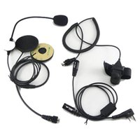 Wholesale Motorcycle Helmet Headset For KENWOOD WalkieTalkie Two Way Radio CB Ham Radio Comunicador C088 Fshow