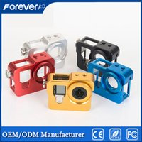aluminum camera hard case - new Hot Product Go Pro Camera Accessories Aluminum Rear cover Protect shell For Gopro Hero