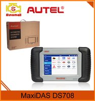 Automotive Diagnostic Systems asian support - Original Autel MaxiDAS DS708 Scan Tool Automotive Diagnostic System Auto Scanner DS Support US EU Asian Cars