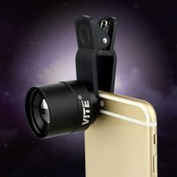 Wholesale VITE mm Cell Phone Holder Telescope Eyepiece mm With Clip For iPhone Samsung HTC F9113A