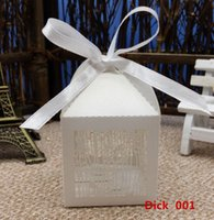 bamboo birdcages - 2016 New Laser Cut Birdcage Wedding Box candy box wedding party favors box gift boxes event party supplies