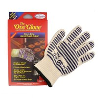 Wholesale Free DHL hot sale Protective Cooking Tools bakeware tricot Microwave Ove Oven Glove Heat Proof Resistant Kitchen Gadgets