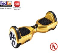 Wholesale Newest inch APP Cellphone Controlled Wheels Self Balance Electric Hoverboard UL Approved