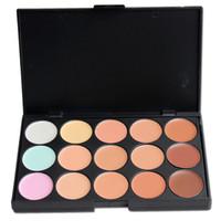 Wholesale 2016 Hot Sale Colors Concealer Cream Women Face Beauty Products Powder Foundation Palette Set Kits