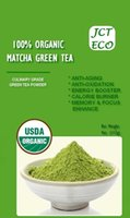Wholesale 4 Oz Matcha Green Tea Powder USDA Organic Certified Culinary Grade JCT ECO