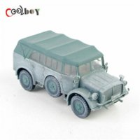armored jeep - 1 Dragon Model Toys WWII German Horch Snow Jeep Armored Command Car model car
