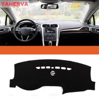 Wholesale Car Accessories Black High quality Interior Car Dashboard Cover Light Avoid Mat Fit For Ford Mondeo