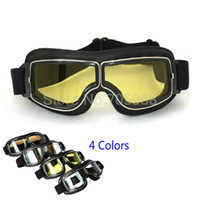 Wholesale UV400 Helmet Pilot Goggle Climbing Motocrosss MX Goggles Cross Country Google Motorcycle Racing Glasses Sunglass