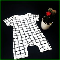 baby playsuits - long size baby rompers stripes infant baby boys girls playsuits newborn high quality outfits bodysuits factory killing price