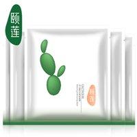 Wholesale Cactus mask replenishment whitening mask repair radiation antioxidant