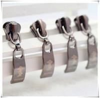 Wholesale PSC metal zipper slide DIY sewing pillows bedding bag clothing zipper zipper head