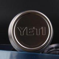 Wholesale Yeti Cooler Stainless Steel YETI Rambler Tumbler Cup Car Mugs Vehicle Beer Mug Double Wall Bilayer Vacuum Insulated OZ