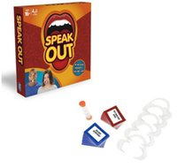 Wholesale Speak Out Board Game Mouthpiece Mouth Hasbro Interesting Party Challenge Game Christmas Toys For Kids