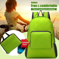 Wholesale Women Men Unisex climb camping hiking Travel Outdoor sport backpack Leisure Bags Schoolbag Rucksack Foldable Bags