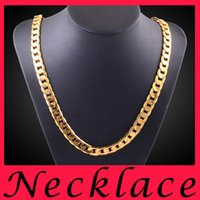 american inches - Fashion Jewelry stores K Gold statement mens necklaces gold chains choker necklace charms chunky jewellery online mm inch chain