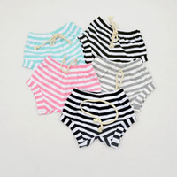 Wholesale 2016 bobo choses Fashion Boys Girls Stripe Solid Pattern PP Shorts Baby Boys Girls Romp Bread shorts bebe menino Digital T Shirts