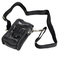 Wholesale Professional Leather Radio Soft Case Holder For BAOFENG UV5R G00152 SPDH