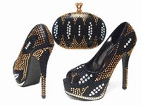african shoe - Cherry Lady New Arrival Women Shoes High Quality New Fashion African Shoes and Bag Sets for Wedding