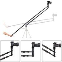 Koolertron Aluminum Mini Potence Portable Pro DSLR caméra vidéo Grue Jib Arm Version Standard + Sac