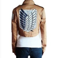 Cheap TV & Movie Costumes Clothing Best Unisex Athletic & Sporty Attack on Titan Jackets
