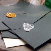 Wholesale Black Pearl Envelopes Personalized Commercial Envelope Decoration Wedding Gift H0250