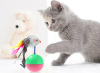 Wholesale For Pet Cat Toys Tumbler toy Training Fun Mouse Play Toy Rubber Tumbler Ball Tumbler Mouse cat toy