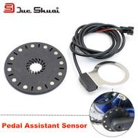 Prezzi Kit e bike-Pedale di alta qualità bici elettrica Sensori di 12 magneti Collegare il motore Assemblare Crank PAS E-Bike Speed Gear Kit conversione Parte