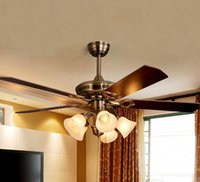 Wholesale New LED Ceiling lights heads LED Light ceiling Fan lamp pendant lights for diningroom livingroom TT2021003