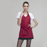 cotton apron - Kitchen aprons home cooking apron chef aprons cafe aprons
