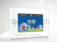 battery life android - home security inch touch screen GSM alarm system support smart IOS Android APP alarm panel with long life Li ion battery