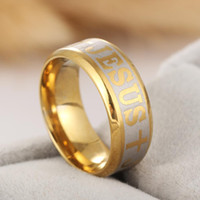 Wholesale Fashion Accessories Simple Two Colors Golden And Sliver Great Wall Men Male Ring Stainless Steel Wedding Rings for Men Jewelry RG044