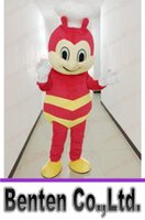animals philippines - VO121 Custom Jollibee In Philippines Animal Mascot Cartoon Costume Carnival Suit Halloween Christmas Birthday Dress Adult Size Performance