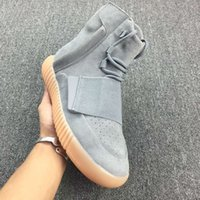 basketball court lights - NEW Boost Light Grey Gum Glow In The Dark Kanye Shoes Basketball Shoes Sneakers Boost Men and women Sports Boosts